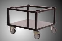 NEU Untergestell WS7050 für Wärmeschränke 7050 mit Standfüßen