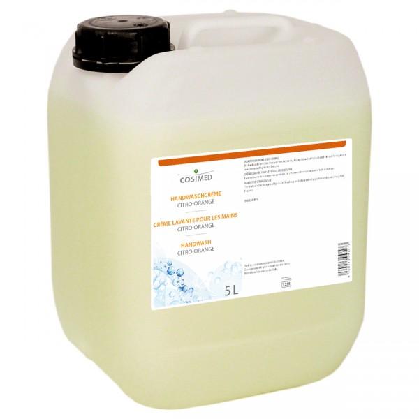 NEU CosiMed Handwaschcreme Citro-Orange, 5-l-Kanister