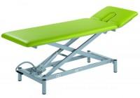 NEU OPAL Scherenliege 2-teilig elektrische mit 3-teiligem Kopfteil, Rädergestell und Fußschalterreli