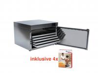 NEU KOMPLETTANGEBOT: Heuser Wärmeschrank inklusive 4 Stück Spitznertherm Warmpacks