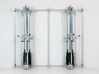 NEU Multi-System Reha-Line Wandschienenkonstruktion MIT Zugapparate
