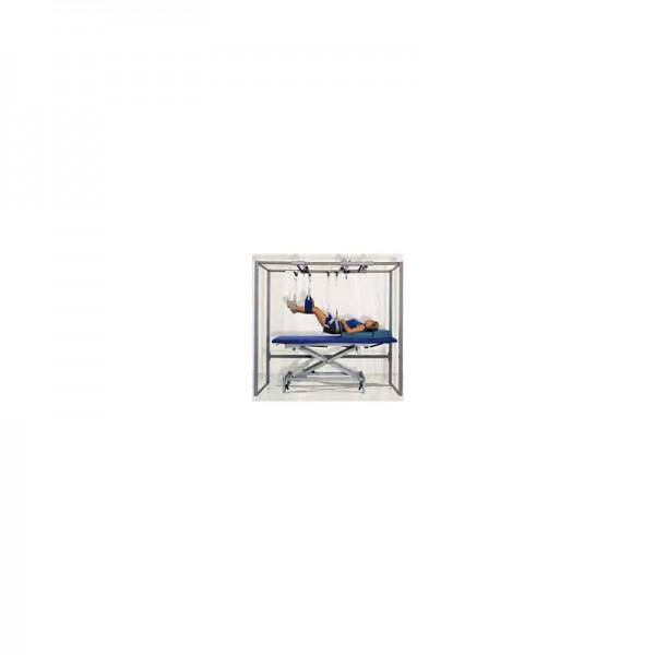 Standschlingentisch nach Krell in blau