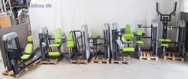 Ergo-Fit Gerätepark 4000er-Serie med. PowerLine mit Monitoren - gebraucht