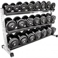 NEU Vorteilspaket! CHD-Satz Gummi 5-30 kg inkl. Rack
