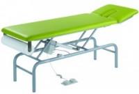 NEU BOLANI Behandlungsliege hydraulisch 2-teilig, 1-teiliges Kopfteil, Liegefläche 200 x 65 cm