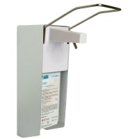 NEU Wandspender 1000ml mit langem Armhebel, Aluminium,für Seife und Desinfektion
