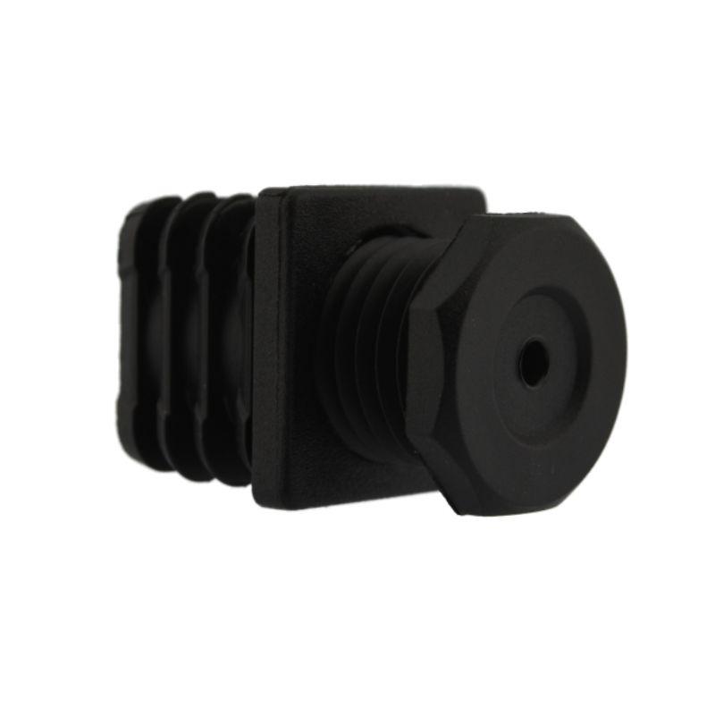 justierstopfen f r vierkantrohre mit einteiligem aussenk rper 30 x 30 mm kurz schwarz copy. Black Bedroom Furniture Sets. Home Design Ideas