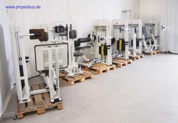 Ergo-Fit 4100S med. Gerätepark aus Insolvenz - 7-teilig - gebraucht