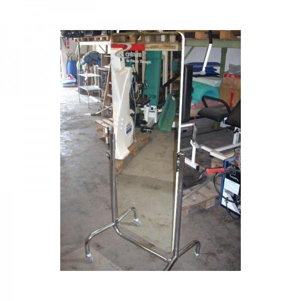 fahrbarer Spiegel auf Rollen 52x166cm
