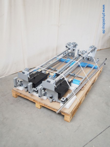 2 Zugapparate Reha-Line mit Verschiebesystem - gebraucht