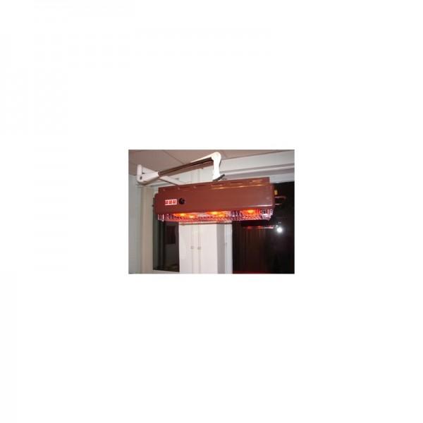 Rotlicht 6-fach mit Wandarm