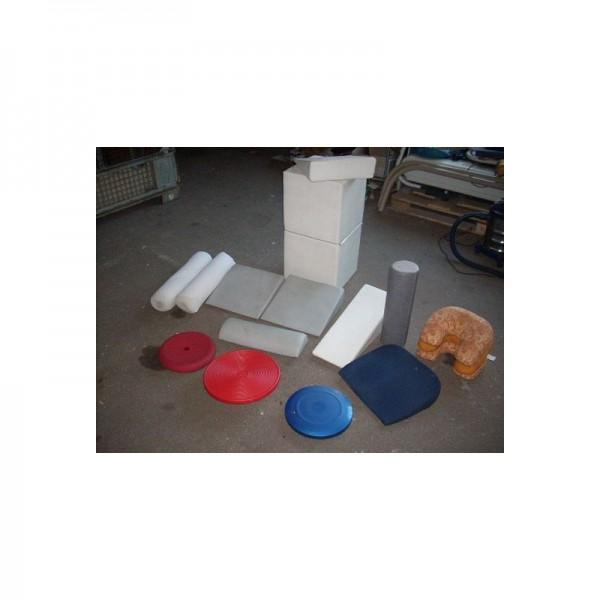 Lagerungsmaterial verschiedene Grössen und Sorten