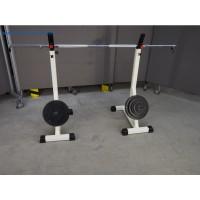 Langhantelständer und Gewichten - gebraucht