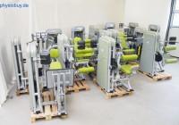 Ergofit-Gerätepark 4000er-Serie med. bestehend aus 14 Geräten - Gebrauchtgeräte im super Zustand