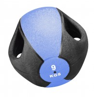 NEU Medizin Ball Esfera mit Griff - 9 kg