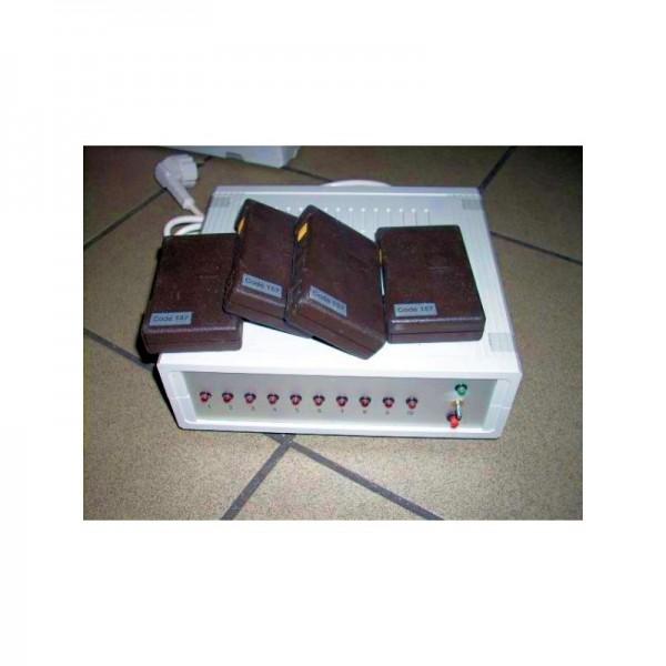 Patientennotrufanlage mit Funk inkl. 4 Handsender