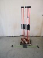Flexibar Standard rot inkl Ständer rollbar - gebraucht