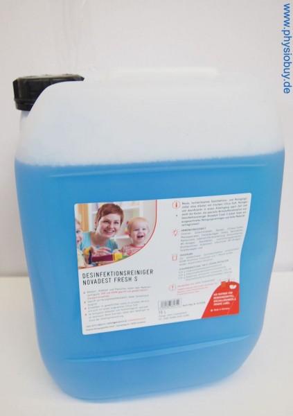NEU Novadest Fresh S Desinfektionsreiniger, 10 Liter-Kanister - Flächendesinfektionsmittel