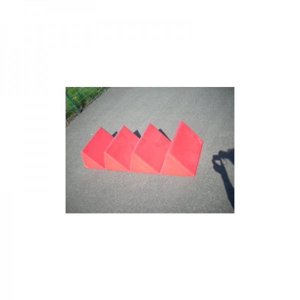 Lagerungsdreiecke rot Trilop