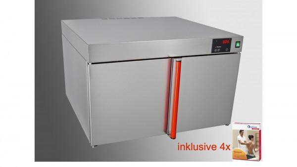 NEU KOMPLETTANGEBOT: Heuser Wärmeschrank inkl. 4x Spitzner-Therm Warmpacks