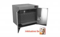NEU KOMPLETTANGEBOT: Heuser Wärmeschrank inklusive 6 Stück Spitznertherm Warmpacks