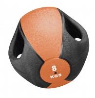 NEU Medizin Ball Esfera mit Griff - 8 kg
