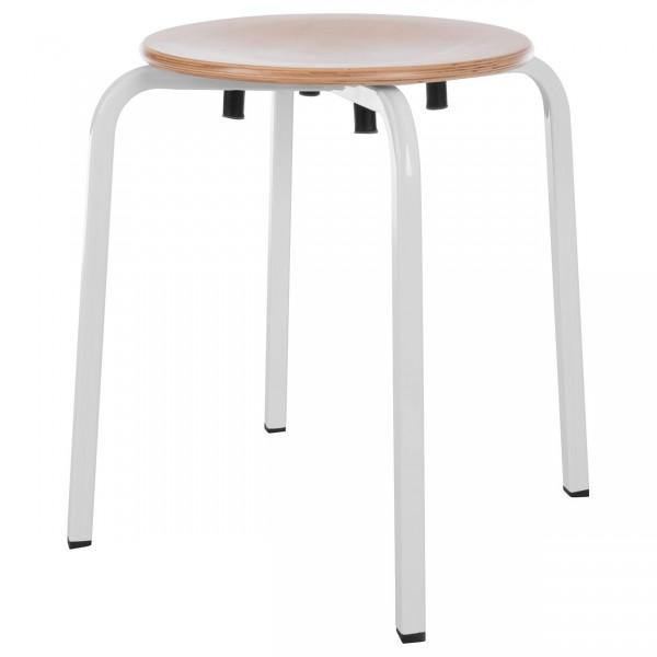 NEU Gymnastikhocker Exklusiv mit Holzsitzfläche, ø 35 cm, Sitzhöhe 51 cm