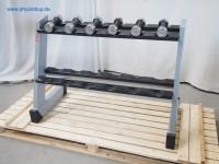 SCHNELL Hantelablage mit 6 Hanteln - gebraucht