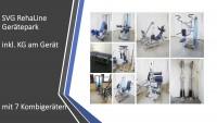 Gerätepark SVG Rehaline 11 Geräte - gebraucht